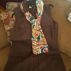 Brooks Brothers Irish linen.Dress